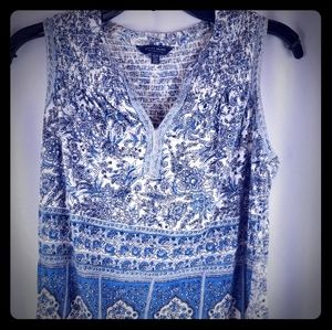 Lucky Brand Women Floral Top Size Xs